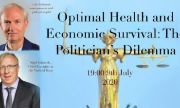 Optimal Health or Economic Survival
