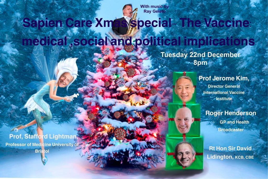 Xmas Webinar, Vaccine, Medical, Political and Social Implications